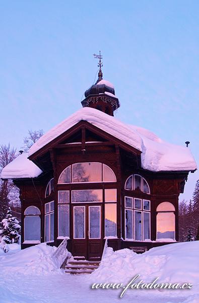 Pitný pavilon, Karlova Studánka