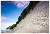 Křídové útesy a Baltské moře, Jasmund, národní park, Německo