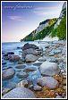 Jasmund, kameny v Baltu, národní park, Německo