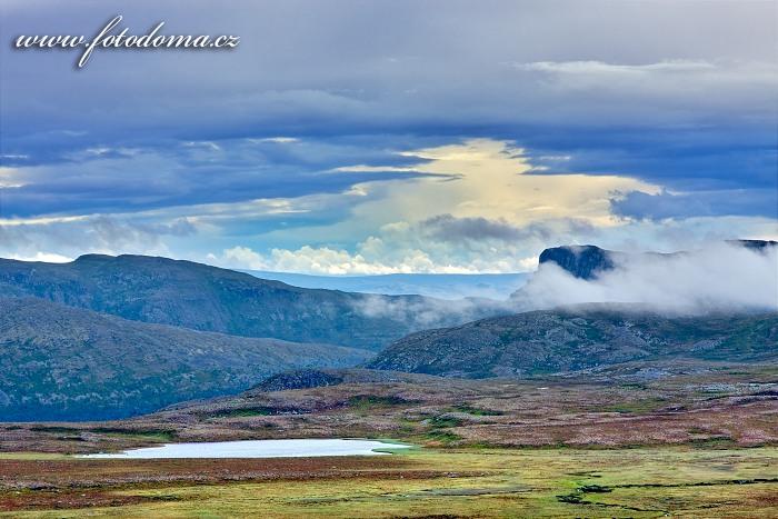 Krajina v národním parku Femundsmarka
