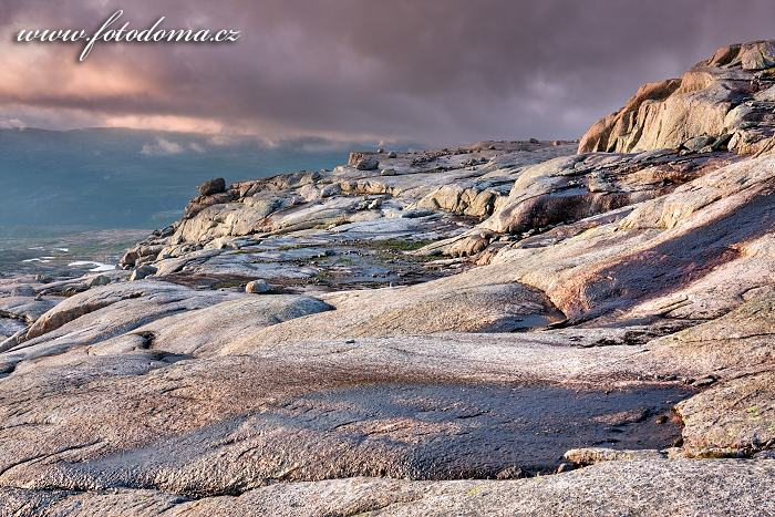 Krajina na masivu Raga, národní park Rago, kraj Nordland, Norsko