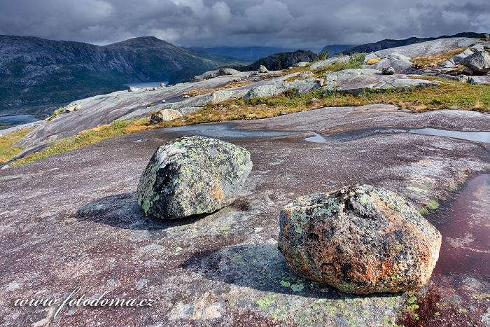 Krajina s kameny, národní park Rago, kraj Nordland, Norsko