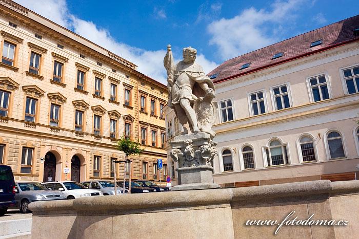 Kašna na Václavském náměstí, Znojmo