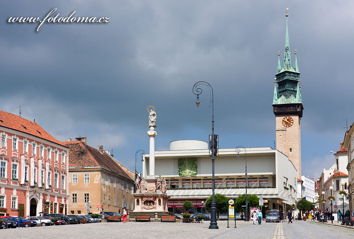 Masarykovo náměstí a radniční věž, Znojmo