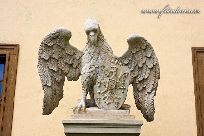 Socha orla u znojemského hradu, Znojmo