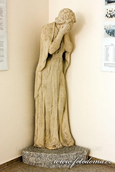 Socha v muzeu, Rakvice