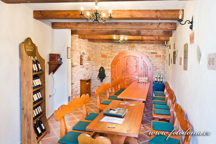 Vinný sklep vinařství Gréger, Rakvice