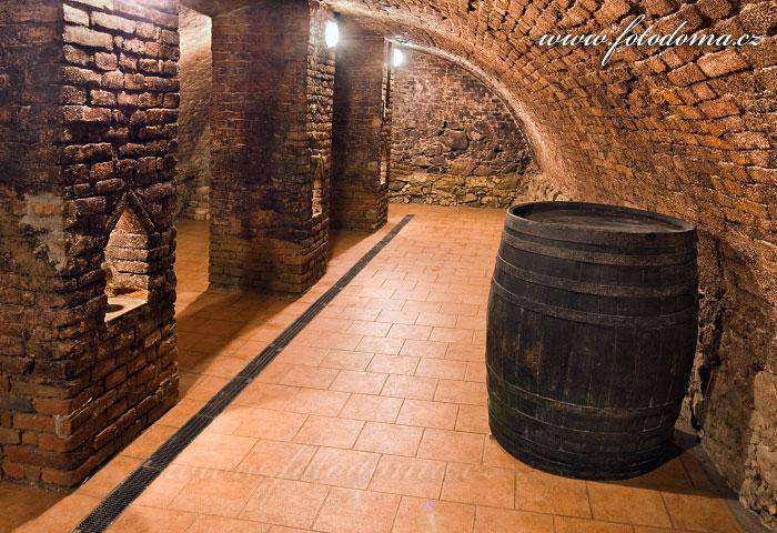Vinný sklep vinařství Gréger, podzemí, Rakvice