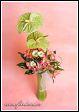 Květinová vazba s anthurií
