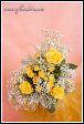 Kytice žlutých růží
