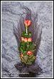 Smuteční květinové aranžmá