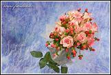 Květinové aranžmá s růžemi