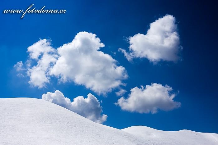 Hřebínek Creste de Zonia nad sedlem Giau, Dolomity