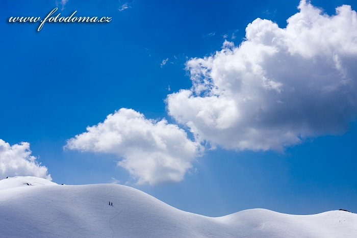 Creste de Zonia ze sedla Giau, Dolomity