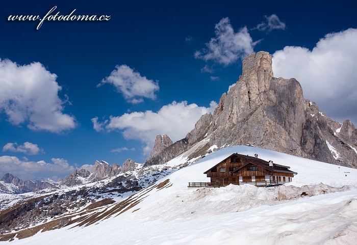 Sedlo Giau a štít Averau, Dolomity