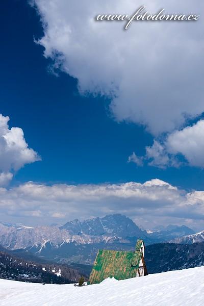 Kaplička nad Passo Giau, Dolomity