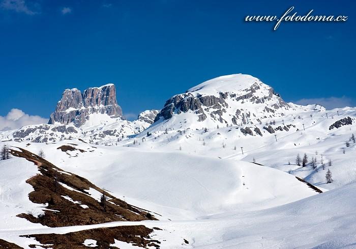 Štíty Averau a Croda Negra, Dolomity