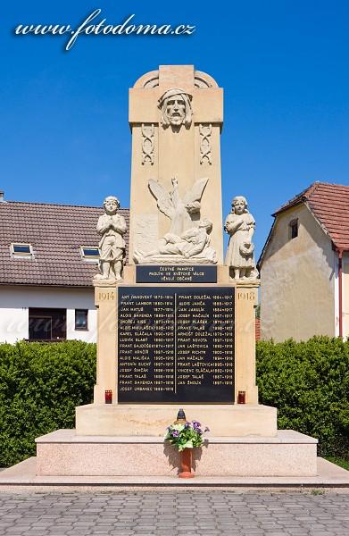 Pomník v Ludkovicích