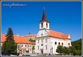 Kostel svatého Jana Křtitele a zámek, Náměšť nad Oslavou