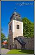 Vstupní věž kostela svatého Jana Křtitele z 13. století, Velká Bíteš