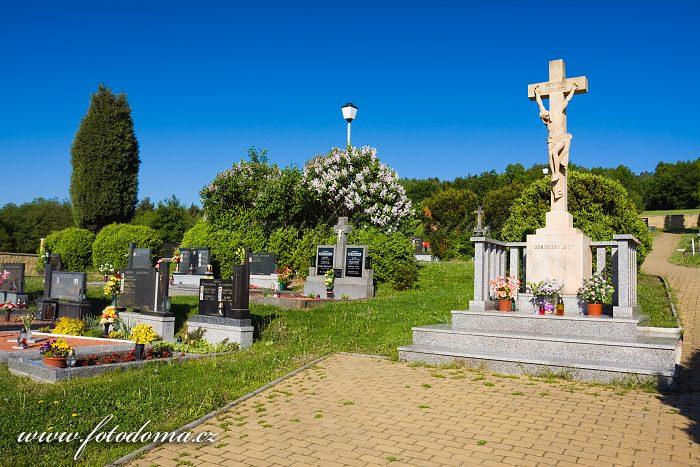 Hřbitov v Ludkovicích, okres Zlín