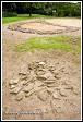Prehistorická dlážděná cesta a šestý kostel - dvouapsidová rotunda, Slovanské hradiště Mikulčice-Valy
