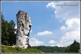 Skalní útvar Helkulův kyj, Ojcowski Park Narodowy
