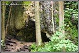 Jeskyně u skalního útvaru Krakowska Brama, Ojcowski Park Narodowy
