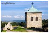 Benediktinský klášter na vrchu Swiety Krzys, masiv Swiety Krzys, Swietokrzyski národní park, Swietokrzyski Park Narodowy, Polsko