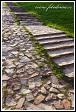Schody, Benediktinský klášter na vrchu Swiety Krzys, masiv Swiety Krzys, Swietokrzyski národní park, Swietokrzyski Park Narodowy, Polsko