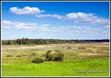 Krajina u obce Kopytkowo, Biebrzanski národní park, Biebrzanski Park Narodowy, Polsko