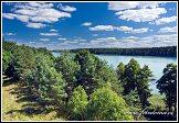 Zatoka Wigierki, jezero Wigry, Wigierski Park Narodowy, Wigierski národní park, Polsko