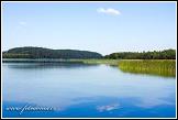 Jezero Wigry, Piasky, Wigierski Park Narodowy, Wigierski národní park, Polsko