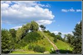 Bývalý opevněný hradní vrch na okraji Merkinė, Litva