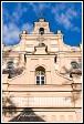 Kostel Panny Marie z patnáctého století v Merkinė, Litva