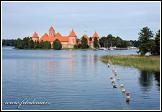 Ostrovní hrad Trakai, Památka UNESCO, Národní park Trakų istorinis, Litva