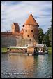 Ostrovní hrad Trakai a lodě, Památka UNESCO, Národní park Trakų istorinis, Litva