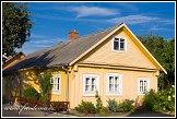 Historický dřevěný dům na ulici Karaimų, Trakai, Památka UNESCO, Národní park Trakų istorinis, Litva