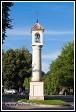 Sloupová kaplička svatého Jana Nepomuckého ze 17. století na ulici Karaimų, Trakai, Památka UNESCO, Národní park Trakų istorinis, Litva