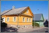 Dřevěnice na ulici Karaimų, Trakai, Památka UNESCO, Národní park Trakų istorinis, Litva