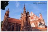 Kostel svaté Anny a Bernardinský klášter, Vilnius, Litva