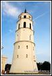 Zvonice Vilniuské katedrály, Vilnius, Litva