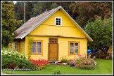 Dřevěný dům v Trainiškis, Aukštaitijos národní park, Aukštaitijos nacionalinis parkas, Litva