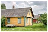 Dřevěný dům v Šuminai, Aukštaitijos národní park, Aukštaitijos nacionalinis parkas, Litva