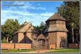 Dřevěný kostel v Palūšė, Aukštaitijos národní park, Aukštaitijos nacionalinis parkas, Litva
