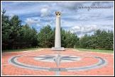 Památník geografického středu Evropy, Purnuškės, Litva