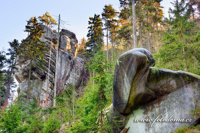 Białe Skały, Národní park Gór Stołowych
