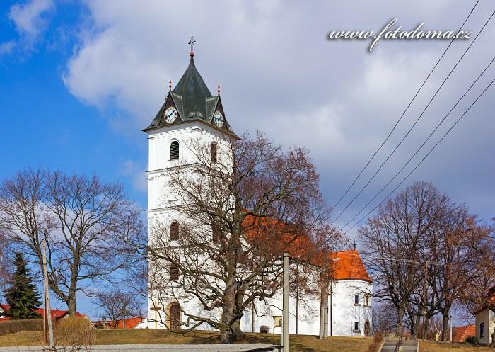 Kostel sv. Jana Křtitele, Višňové, okres Znojmo, Jihomoravský kraj