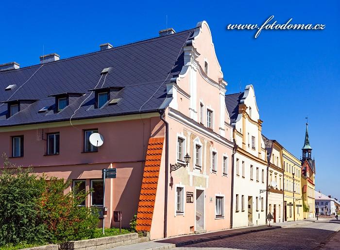 Domy v Radniční ulici, Vidnava, okres Jeseník, Olomoucký kraj, Česká republika