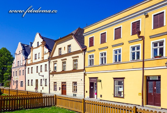 Turistická ubytovna v Radniční ulici, Vidnava, okres Jeseník, Olomoucký kraj, Česká republika